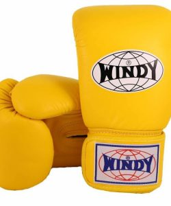 WIndy Muay Thai Boxing Gloves - Yellow