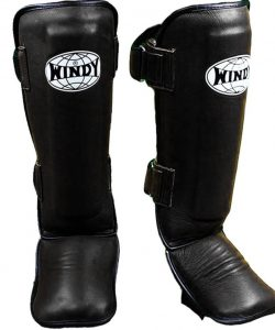 Windy Shin Pads LPL Black