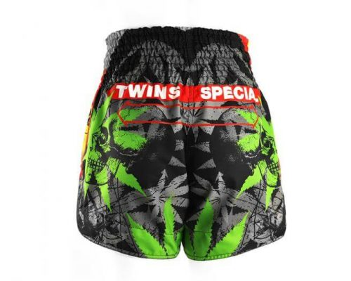 Twins Special Grass Muay Thai Shorts