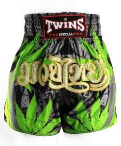 Twins Grass Muay Thai Shorts
