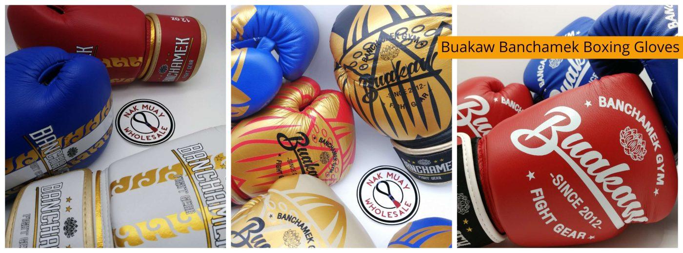Buakaw banchamek Boxing gloves