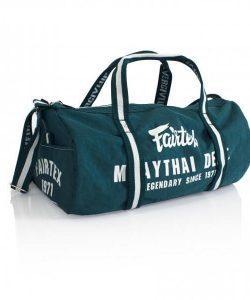 Fairtex Bag9 Barrel Bag Retro Style Gym Bag