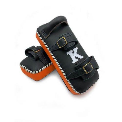 K muay thai kick pads single strap