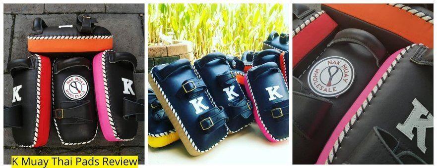 K Muay Thai Equipment review kick pads