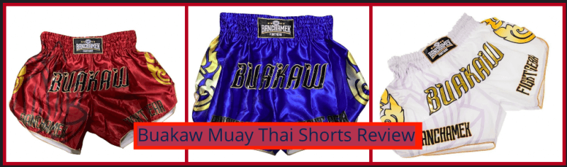 Buakaw Muay Thai Shorts Review