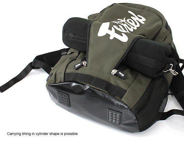Fairtex Bag8 Muay Thai MMA Compact Back Pack Rucksack Gym Bag