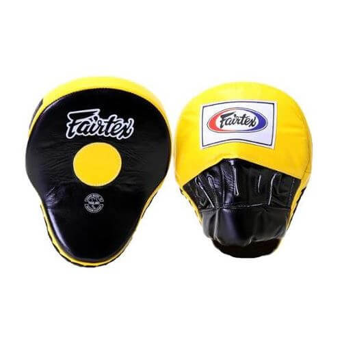 Fairtex Classic Pro Mitts FMV9 Red//White