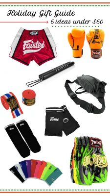 Muay Thai Holiday Gift Guide, 6 ideas under $60