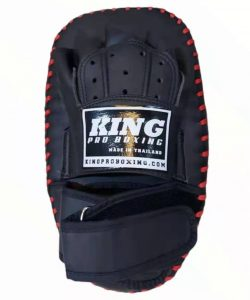 King Pro Boxing Kick Pads Single Strap